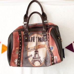 {Nicole Lee} Cafe Paris Collection Handbag